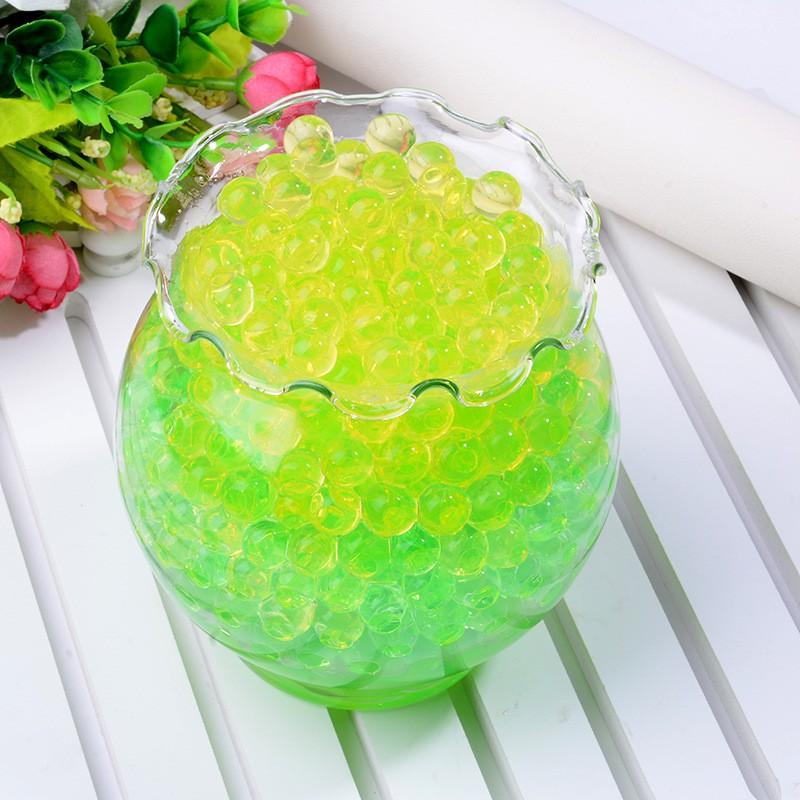 ( nguyenhuyen9916 )đồ chơi hạt nở màu xanh lá 15000 viên màu sắc long lanh như pha lê