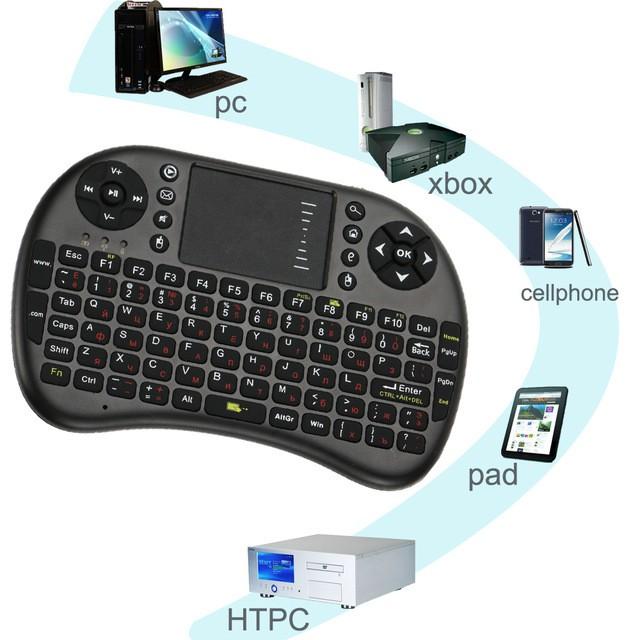 Bàn phím kiêm chuột không dây Mini Keyboard UKB-500-RF