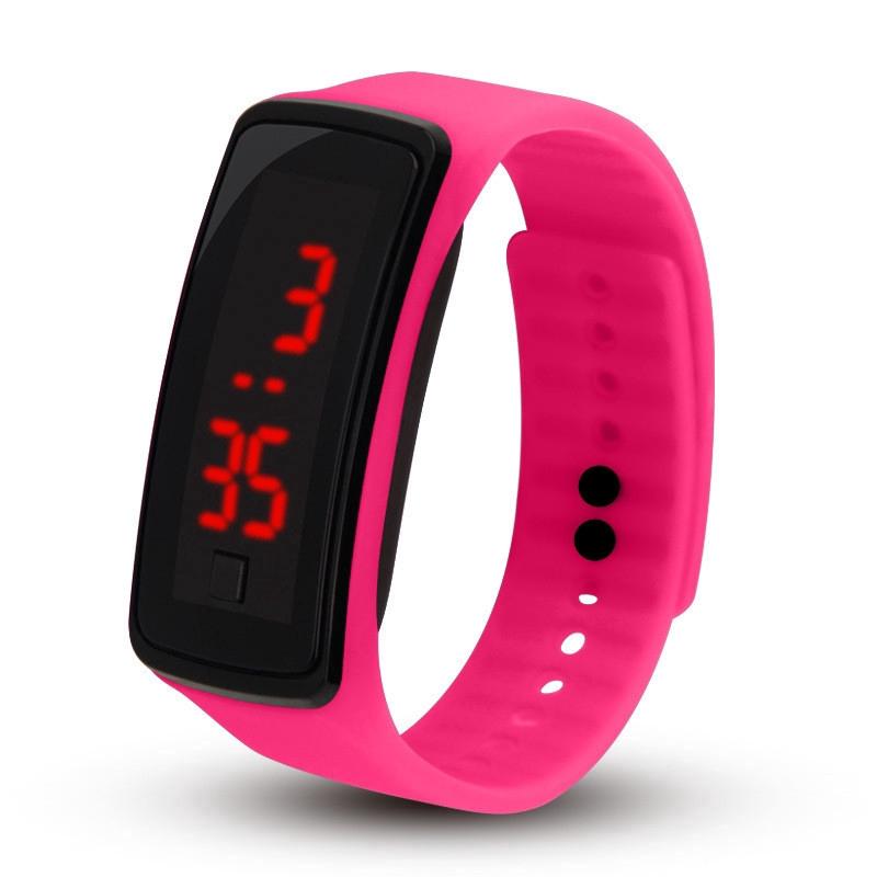Đồng hồ vòng đeo tay LED thể thao đồng hồ điện tử