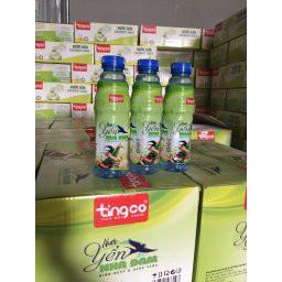 Thùng 24 Chai Nước yến nha đam Tingco chai 500ml