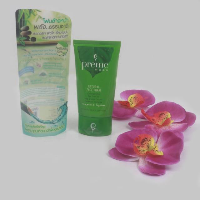 Sữa rửa mặt Preme Nobu trà xanh