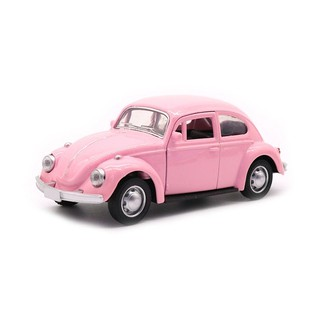 1:32 Beetle Mini Alloy Model Car Toys Door Can Open Simulation Alloy Metal Pull Back Vehicles Toys