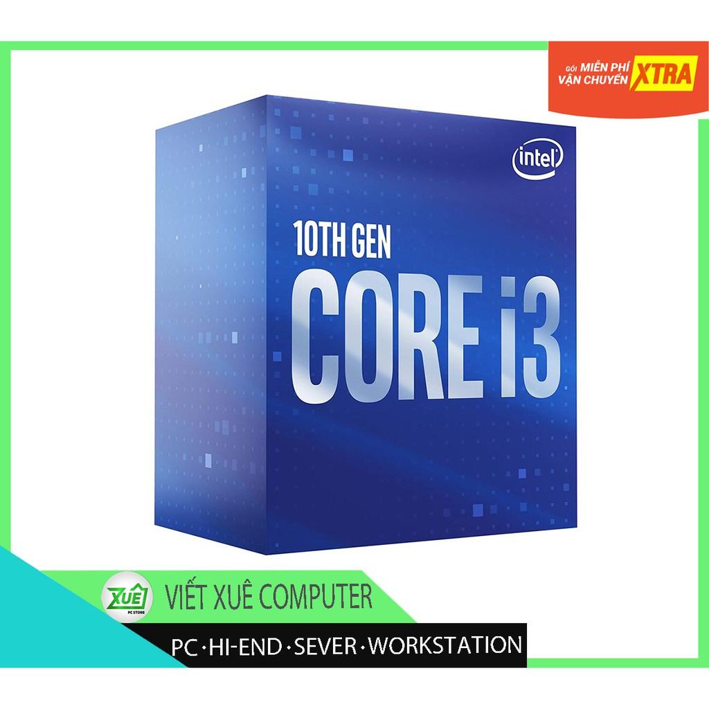 Bảng giá Giảm giá cực sốc ? Chip CPU intel 10100F ?thông số 3.6GHz up to 4.3GHz, 4 nhân 8 luồng socket 1200 Box Phong Vũ