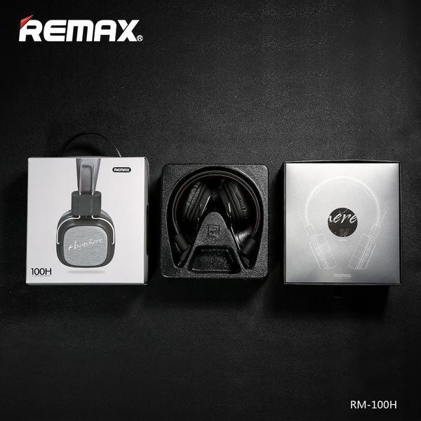 Tai Nghe REMAX RM-100H- Tai Nghe Chụp Tai- Âm Thanh Cực Chất- Bảo Hành Toàn Quốc