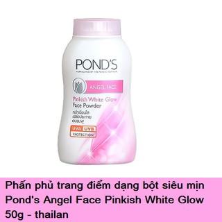 Phấn Phủ trang điểm Dạng Bột Siêu Mịn Pond s Angel Face Pinkish White Glow 50g thai lan thumbnail