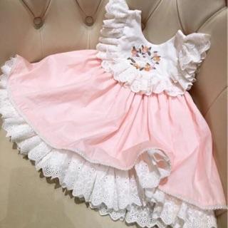 Combo 2 váy cho bé gái