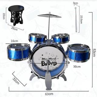Bộ trống jazz DRUM 6 món size lớn