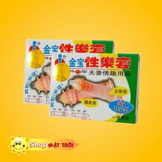 Bao Cao Su GOLD GAI Tăng Khoái Cảm Cho Nữ ( Chính Hãng ) thumbnail