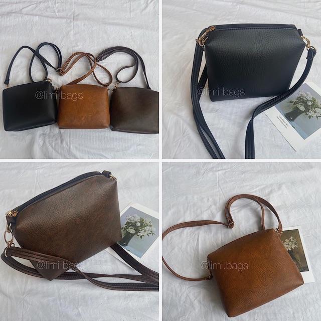 [NEW] Túi Xách Nữ Đeo Chéo LUCI Bags - Túi Hộp Da LIMI BAGS