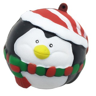 Christmas Squishy Toy Slow Rising Santa Claus Penguin Stress Relief Squeeze Toy