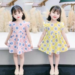 [GIÁ GỐC] váy hoa mặt trời bé con thumbnail