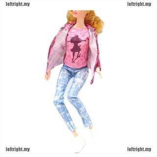 1 Bộ Đồ Thời Trang Cho Búp Bê Barbie