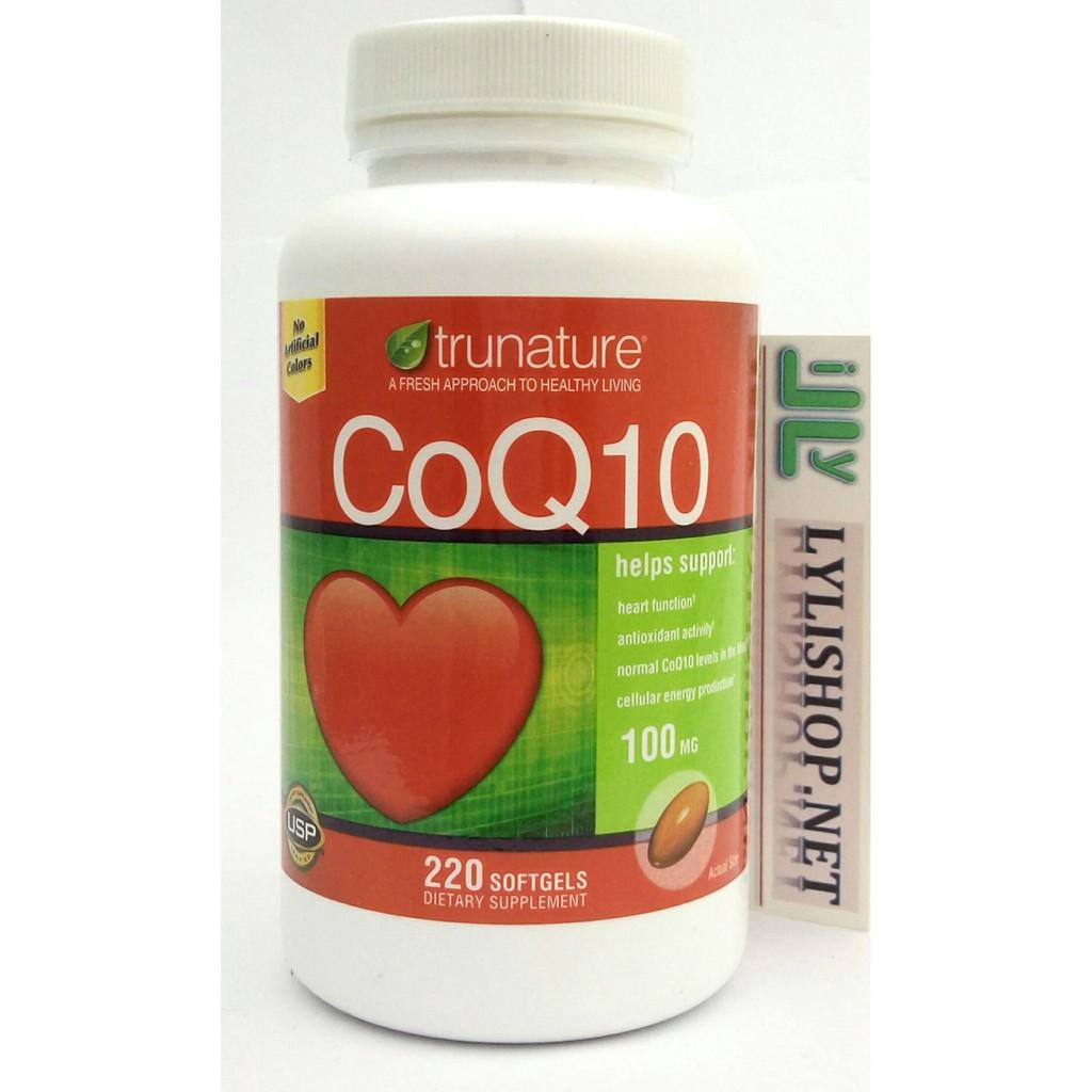 Bổ Tim Mạch Trunature CoQ10 220 viên của Mỹ , coenzym q10, coq10 Trunature , coq10 100 mg - 2964900 , 201859678 , 322_201859678 , 540000 , Bo-Tim-Mach-Trunature-CoQ10-220-vien-cua-My-coenzym-q10-coq10-Trunature-coq10-100-mg-322_201859678 , shopee.vn , Bổ Tim Mạch Trunature CoQ10 220 viên của Mỹ , coenzym q10, coq10 Trunature , coq10 100 mg