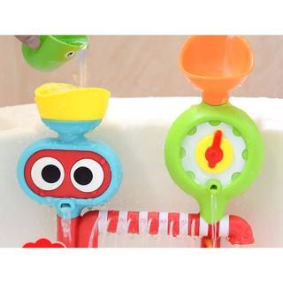 Đồ chơi nhà tắm Phun nước dạng Khung dính tường