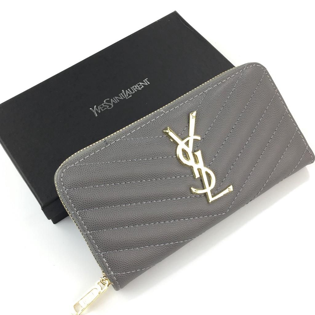 La Manns ซิปรอบกระเป๋าสตางค์ (B60017)