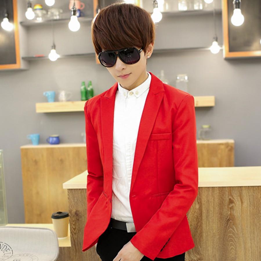 [Giá Chất] Áo vest nam body cao cấp chất dày đẹp màu Đỏ