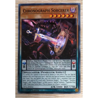 [Thẻ Yugioh] Chronograph Sorcerer