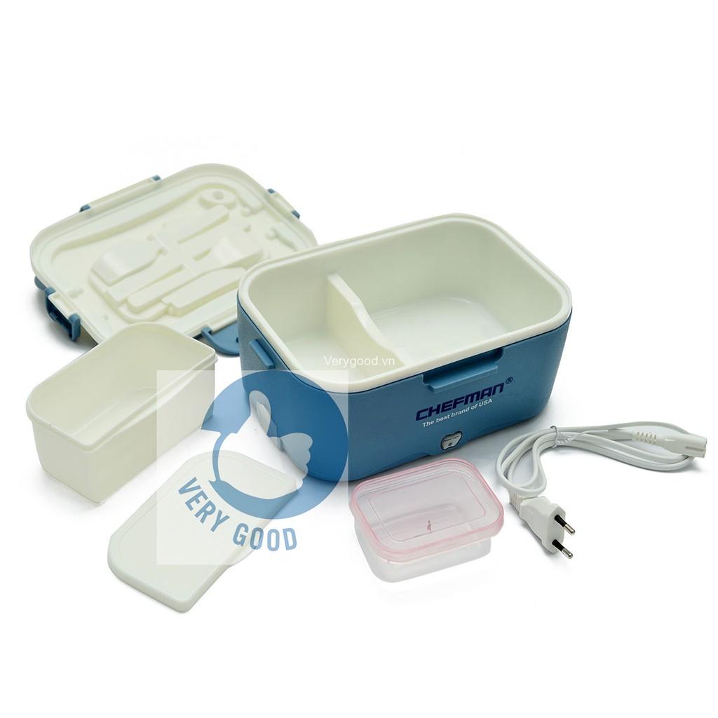 Hộp cơm hâm nóng Chefman CM-112N ruột nhựa VRG00642