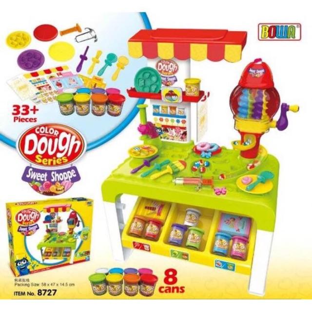 Sweet shop- Siêu đồ chơi đất nặn