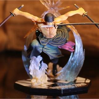 Mô hình One Piece - mô hình Zoro TimeSkip sắc nét màu sáng tối rõ đẹp thumbnail