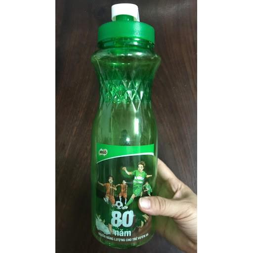 Bình nước nhựa 1lít xanh lá