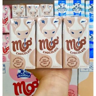 Sữa Devondale 200ml Vị Dâu Socola Úc Thùng 24 Hộp Date Xa Cho Bé Từ 1 Tuổi Trở Lên