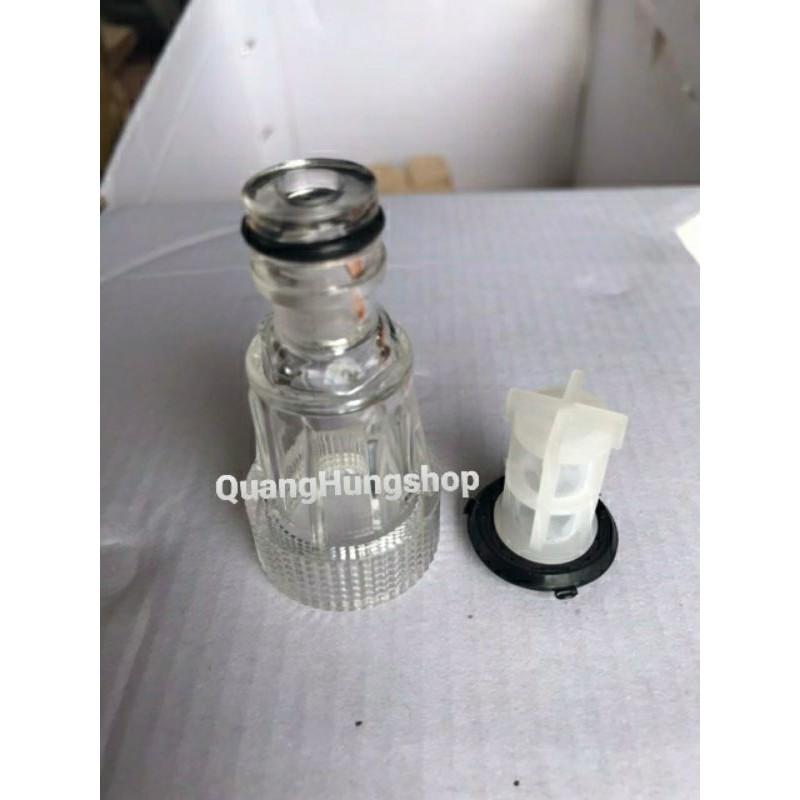 Đầu lọc nước - Cút lọc nước đầu vào máy rửa xe áp lực cao - đầu nối ống hút máy rửa xe