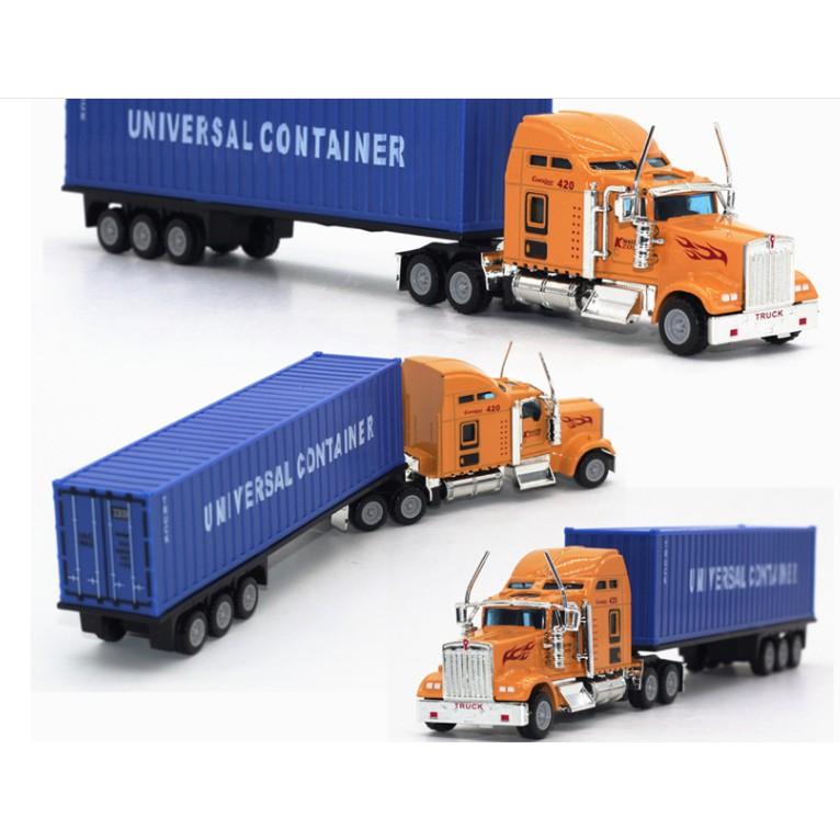 Xe đầu kéo container các loại tỉ lệ 1:48