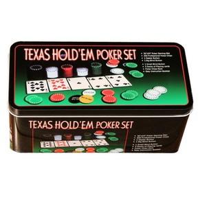 Bộ phỉnh/poker chip 21 điểm gồm 200 chip