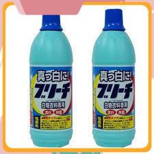 [Sale Siêu Hot] Sản phẩm Nước tẩy quần áo 600ml Rocket japan