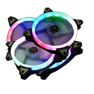 [XẢ KHO] Quạt LED tản nhiệt cho máy tính, LED RBG đẹp, quạt êm không tiếng động