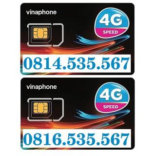 COMBO 2 SIM SỐ ĐẸP VINAPHONE PHONG THỦY, SIM CẶP ĐÔI