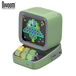 [New model] Loa thông minh Divoom Ditoo Plus 10W - Hình dáng máy tính cổ, màn hình LED 256 Full RGB, tích hợp APP DIVOOM
