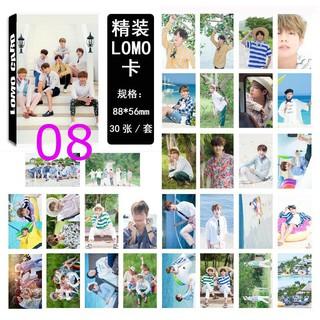 Hộp 30 ảnh lomo card nhóm nhạc BTS