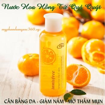 Nước Hoa Hồng Chiết Xuất Từ Nước Quýt – Innisfree Tangerine vita C skin (Hàng Có Sẵn) - 3176392 , 310465331 , 322_310465331 , 390000 , Nuoc-Hoa-Hong-Chiet-Xuat-Tu-Nuoc-Quyt-Innisfree-Tangerine-vita-C-skin-Hang-Co-San-322_310465331 , shopee.vn , Nước Hoa Hồng Chiết Xuất Từ Nước Quýt – Innisfree Tangerine vita C skin (Hàng Có Sẵn)