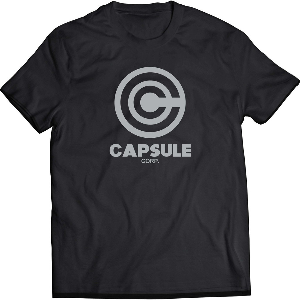 Capsule Corp Logo Drago Ll Z Black Men'T-Shirt Father's Day Gift