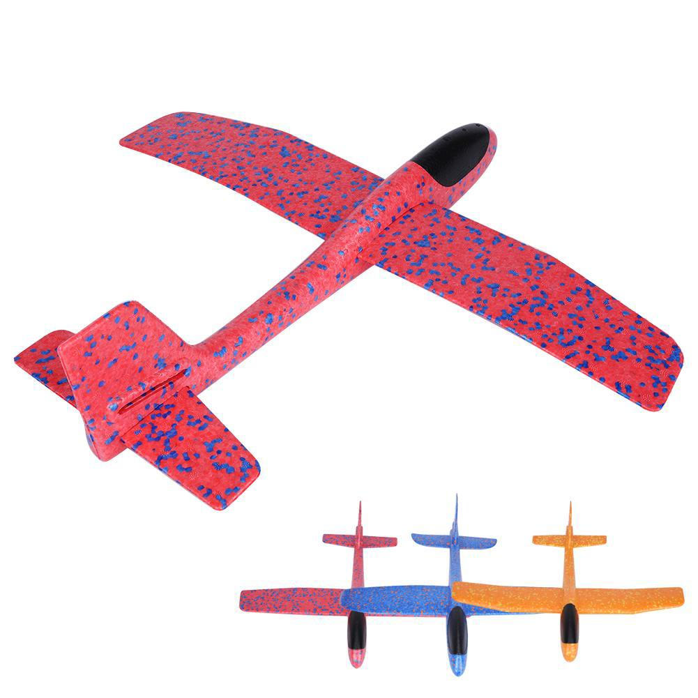 Foam Throwing Flying Airplane Aircraft Toy for Kids Children