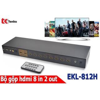 [Mã ELMS3TR giảm 7% đơn 2TR] Bộ Gộp HDMI 8 In 2 Out hỗ trợ 4k x 2k EKL-812H