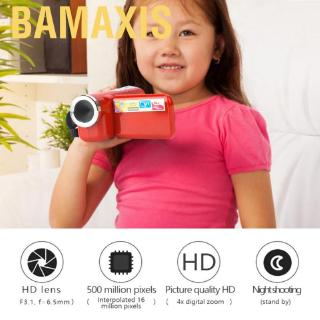 Bamaxis Portable Children Kids 16X HD Digital Video Camera Camcorder with TFT LCD Sceen