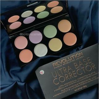 Bảng che khuyết điểm Makeup Revolution Ultra Base Corrector Palette