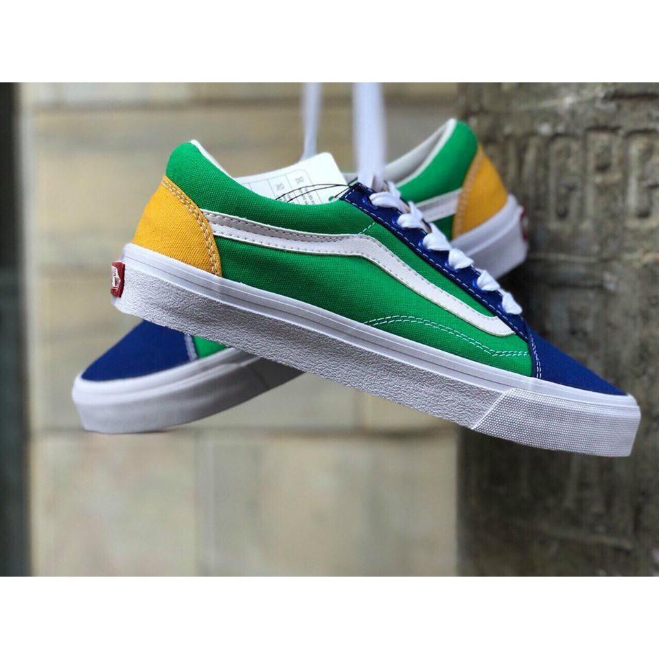 GIÀY VANS AQUA/BLUE [giày 32]