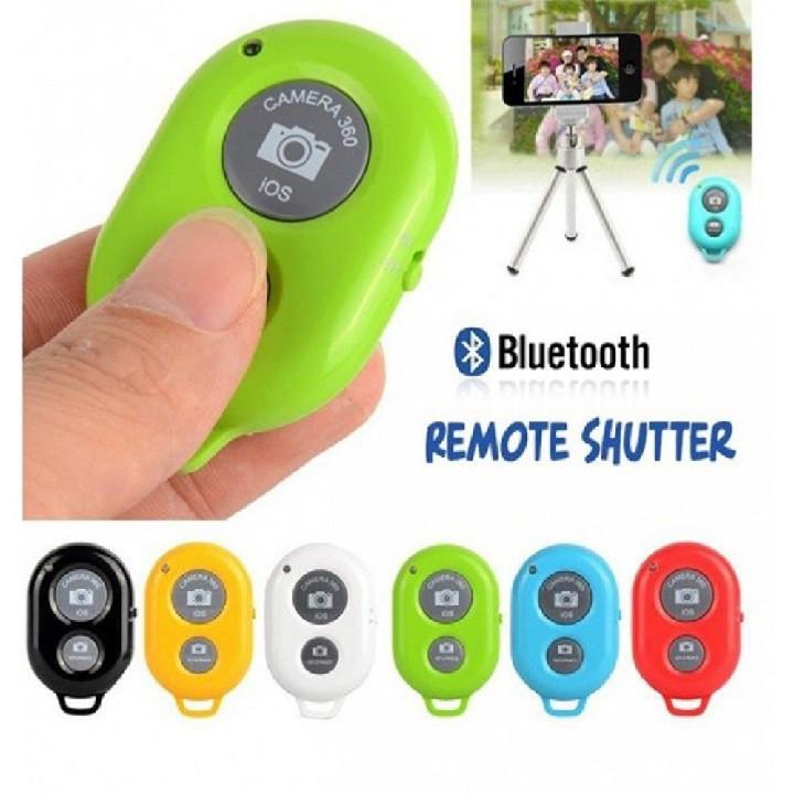 Remote Bluetooth cao cấp Chụp Hình không dây Từ Xa Android ios