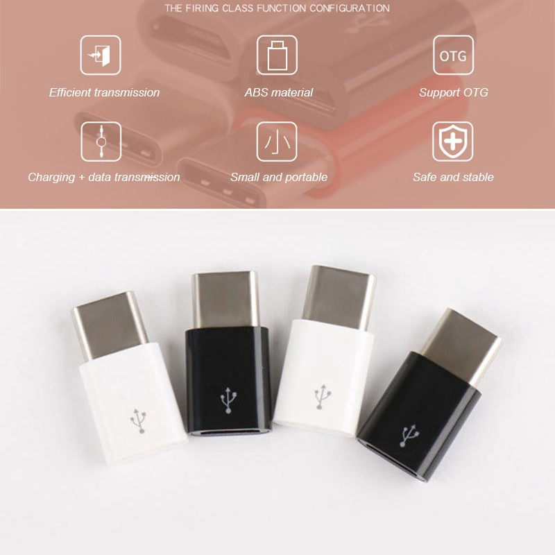 Dụng cụ chuyển đổi đầu cắm Type C USB 3.1 sang đầu cắm Micro USB
