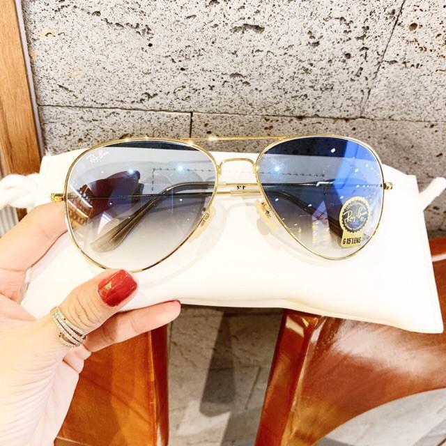 [ Hàng Hot ] Kính râm nữ RB màu xanh dương tặng kèm hộp đựng và khăn lau - Mắt...