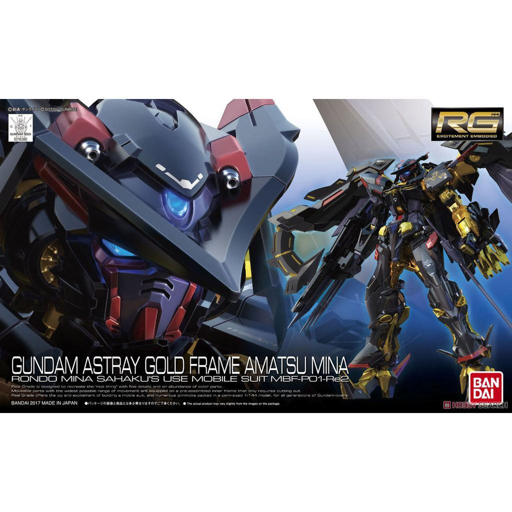 Mô hình Gundam RG24 Astray Gold Frame Amatsu Mina
