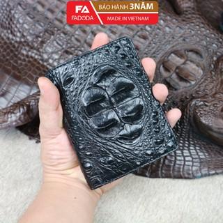 Ví clutch cầm tay nam da cá sấu Fadoda cao cấp màu đen sang trọng - FCW02-01G thumbnail