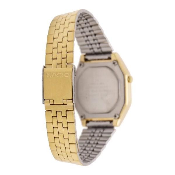 Đồng hồ Casio nữ dây kim loại điện tử LA680WGA-1DF - Chính hãng Casio Anh Khuê