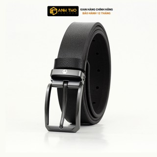 Thắt lưng da bò Anh Tho Leather M4K35-06 thumbnail