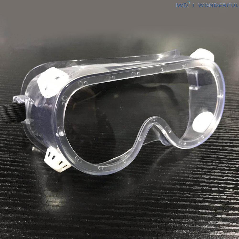 IWD Protective Goggles Spittle Preventive Apatter Preventive Dustproof Clear Lens Safety Glasses Personal Protective Equipment Outdoor All-Wrapped Transparent Glasses