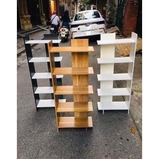 [Hàng Loại 1] Kệ Sách Gỗ 5 Tầng Đa Năng💗 Kệ Góc Tường Gỗ💗 Nhiều Màu BelleVie Thiết Kế Lắp Ráp Tiện Lợi